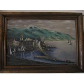 obraz Záliv s přístavem
